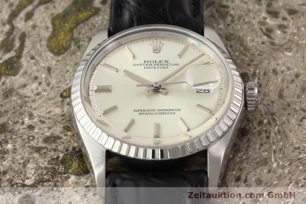 Used luxury watch Rolex Datejust steel automatic Kal. 1570 Ref. 1601  | 141541 14