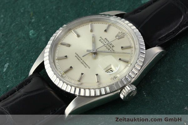 Used luxury watch Rolex Datejust steel automatic Kal. 1570 Ref. 16013  | 141542 01