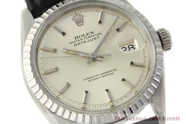 Used luxury watch Rolex Datejust steel automatic Kal. 1570 Ref. 16013  | 141542 02