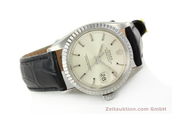 Used luxury watch Rolex Datejust steel automatic Kal. 1570 Ref. 16013  | 141542 03