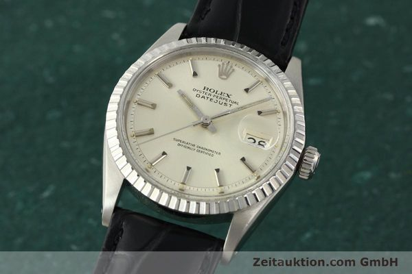 Used luxury watch Rolex Datejust steel automatic Kal. 1570 Ref. 16013  | 141542 04