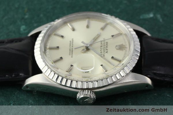 Used luxury watch Rolex Datejust steel automatic Kal. 1570 Ref. 16013  | 141542 05