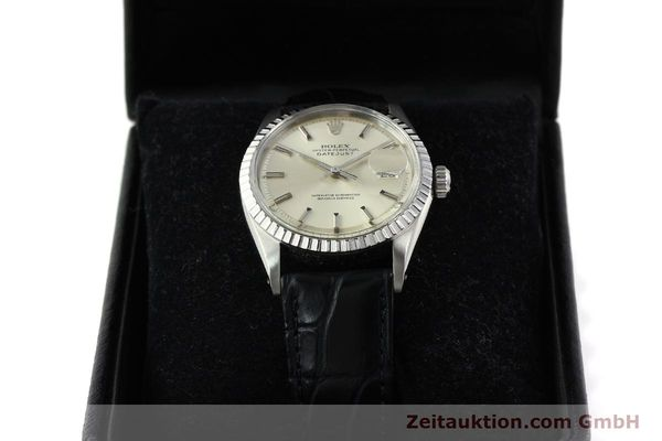 Used luxury watch Rolex Datejust steel automatic Kal. 1570 Ref. 16013  | 141542 07