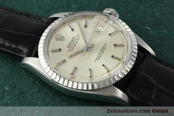 Used luxury watch Rolex Datejust steel automatic Kal. 1570 Ref. 16013  | 141542 13