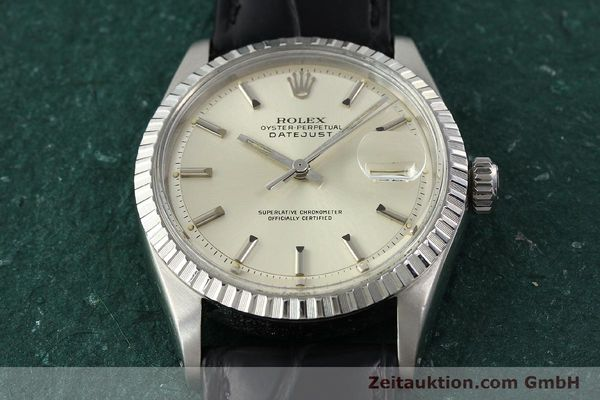 Used luxury watch Rolex Datejust steel automatic Kal. 1570 Ref. 16013  | 141542 14