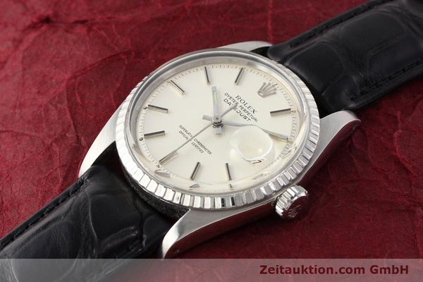 Used luxury watch Rolex Datejust steel automatic Kal. 1570 Ref. 1603  | 141543 01