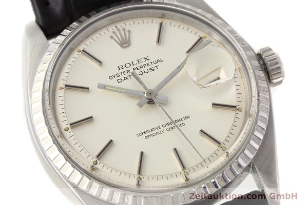 Used luxury watch Rolex Datejust steel automatic Kal. 1570 Ref. 1603  | 141543 02