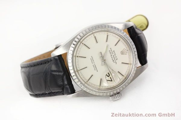 Used luxury watch Rolex Datejust steel automatic Kal. 1570 Ref. 1603  | 141543 03