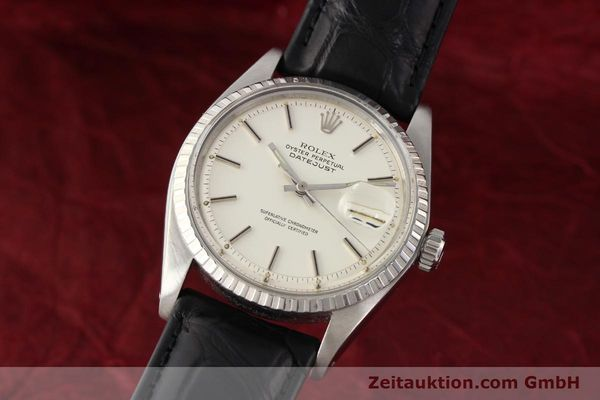 Used luxury watch Rolex Datejust steel automatic Kal. 1570 Ref. 1603  | 141543 04
