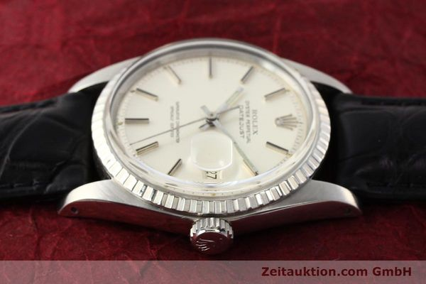 Used luxury watch Rolex Datejust steel automatic Kal. 1570 Ref. 1603  | 141543 05