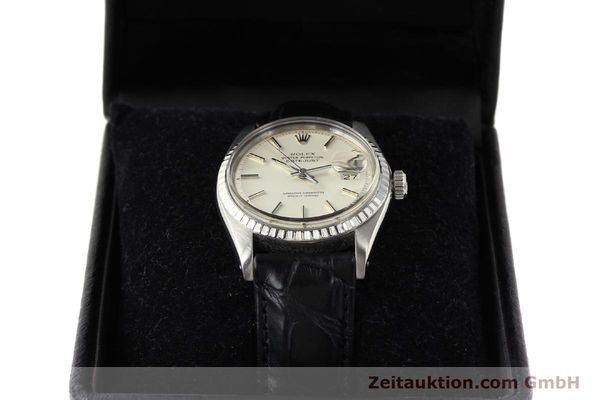Used luxury watch Rolex Datejust steel automatic Kal. 1570 Ref. 1603  | 141543 07