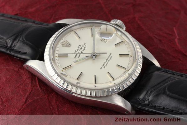 Used luxury watch Rolex Datejust steel automatic Kal. 1570 Ref. 1603  | 141543 12