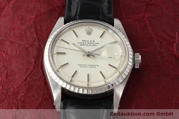 Used luxury watch Rolex Datejust steel automatic Kal. 1570 Ref. 1603  | 141543 13