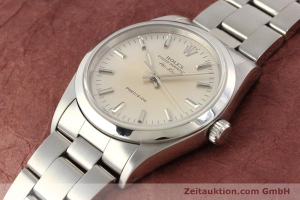 montre de luxe d occasion Rolex Air King acier automatique Kal. 3000 Ref. 14000  | 141545 01