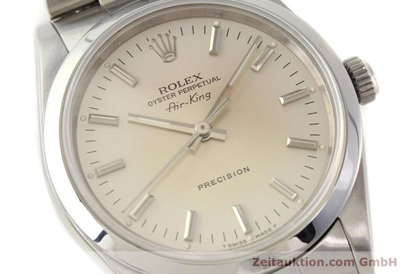 Used luxury watch Rolex Air King steel automatic Kal. 3000 Ref. 14000  | 141545 02