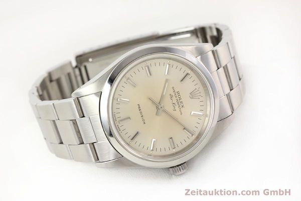 montre de luxe d occasion Rolex Air King acier automatique Kal. 3000 Ref. 14000  | 141545 03