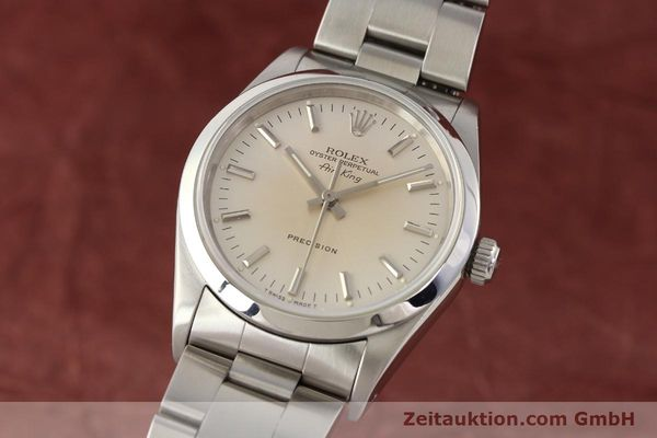 montre de luxe d occasion Rolex Air King acier automatique Kal. 3000 Ref. 14000  | 141545 04