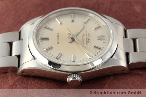 montre de luxe d occasion Rolex Air King acier automatique Kal. 3000 Ref. 14000  | 141545 05