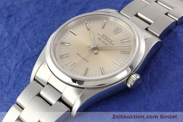 Used luxury watch Rolex Air King steel automatic Kal. 3000 Ref. 14000  | 141546 01