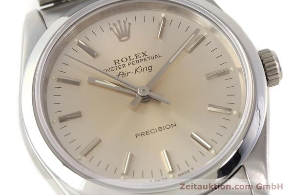 Used luxury watch Rolex Air King steel automatic Kal. 3000 Ref. 14000  | 141546 02