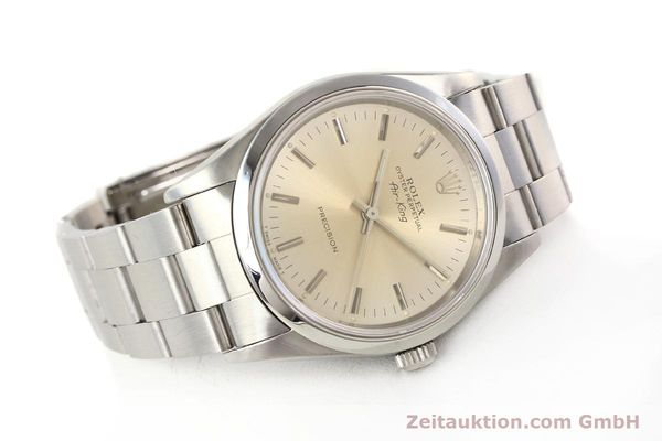 Used luxury watch Rolex Air King steel automatic Kal. 3000 Ref. 14000  | 141546 03