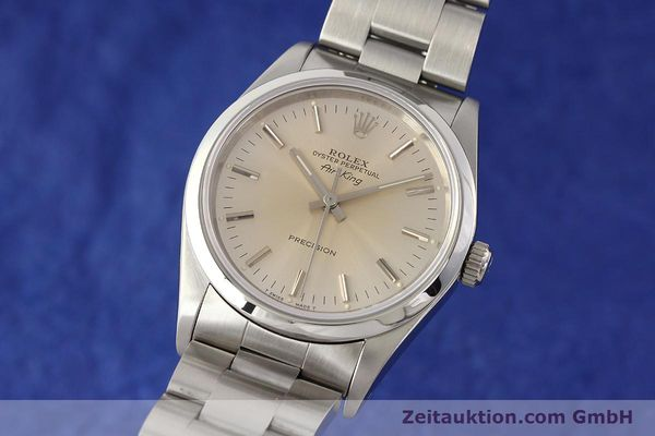 Used luxury watch Rolex Air King steel automatic Kal. 3000 Ref. 14000  | 141546 04