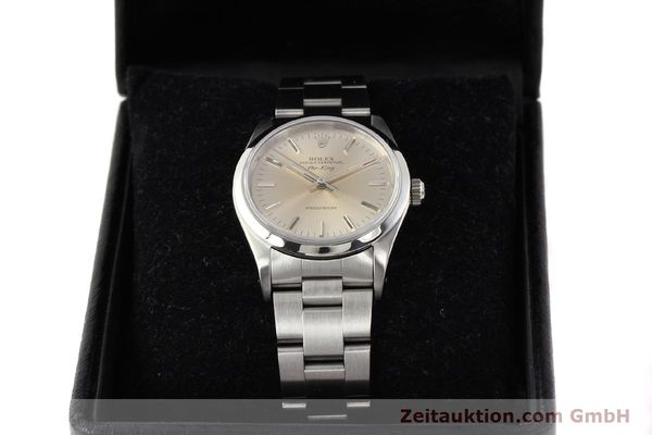 Used luxury watch Rolex Air King steel automatic Kal. 3000 Ref. 14000  | 141546 07