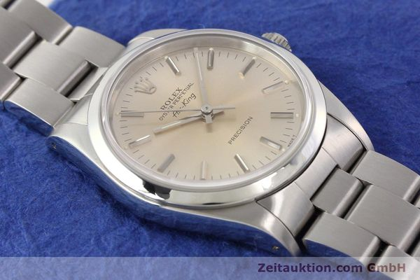 Used luxury watch Rolex Air King steel automatic Kal. 3000 Ref. 14000  | 141546 15