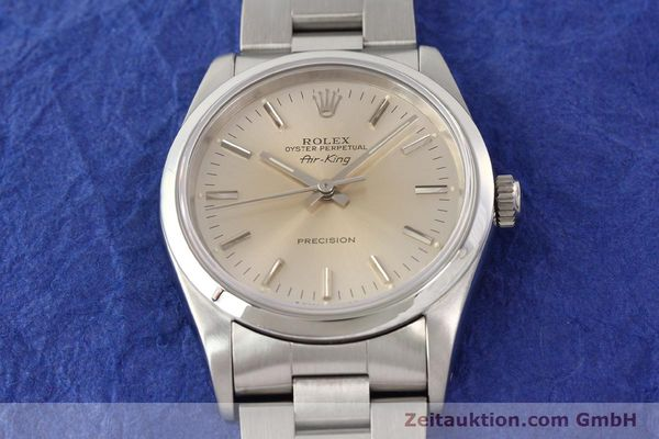 Used luxury watch Rolex Air King steel automatic Kal. 3000 Ref. 14000  | 141546 16