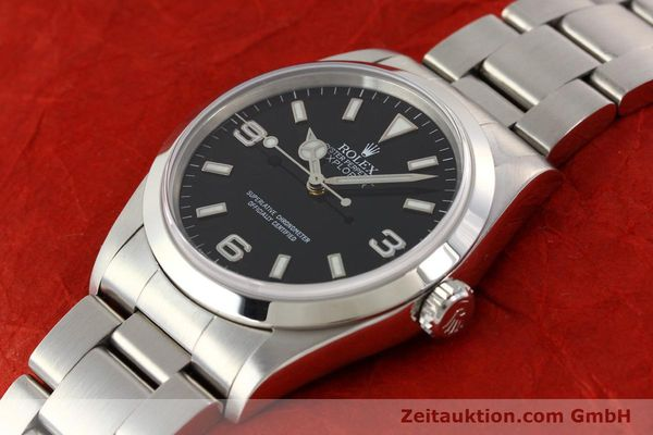 Used luxury watch Rolex Explorer steel automatic Kal. 3000 Ref. 14270  | 141547 01