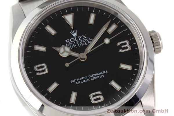 Used luxury watch Rolex Explorer steel automatic Kal. 3000 Ref. 14270  | 141547 02