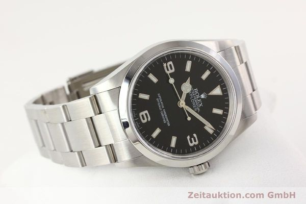 Used luxury watch Rolex Explorer steel automatic Kal. 3000 Ref. 14270  | 141547 03