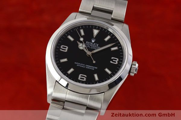 Used luxury watch Rolex Explorer steel automatic Kal. 3000 Ref. 14270  | 141547 04