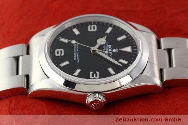 Used luxury watch Rolex Explorer steel automatic Kal. 3000 Ref. 14270  | 141547 05