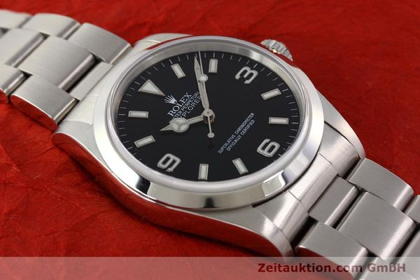 Used luxury watch Rolex Explorer steel automatic Kal. 3000 Ref. 14270  | 141547 14