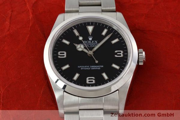 Used luxury watch Rolex Explorer steel automatic Kal. 3000 Ref. 14270  | 141547 15
