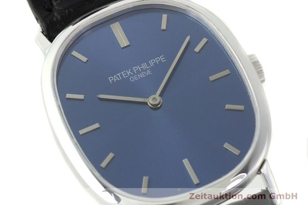 Used luxury watch Patek Philippe Ellipse 18 ct white gold manual winding Kal. 23-300 Ref. 3548  | 141549 02