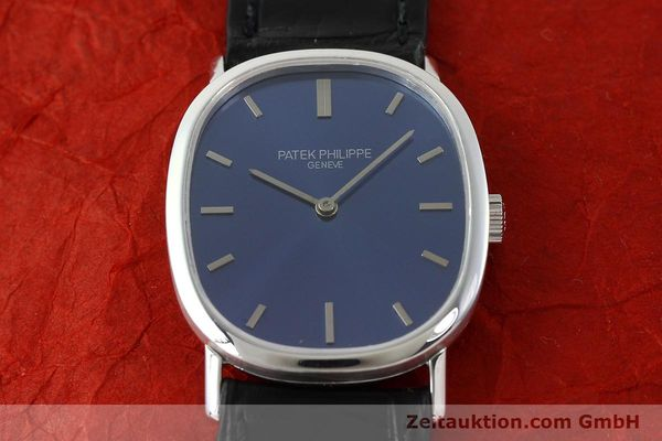 Used luxury watch Patek Philippe Ellipse 18 ct white gold manual winding Kal. 23-300 Ref. 3548  | 141549 15