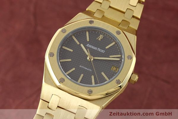montre de luxe d occasion Audemars Piguet Royal Oak or 18 ct automatique Kal. 2123 Ref. B27623  | 141551 04