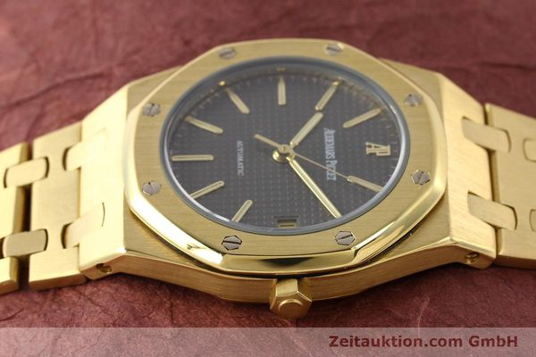 montre de luxe d occasion Audemars Piguet Royal Oak or 18 ct automatique Kal. 2123 Ref. B27623  | 141551 05