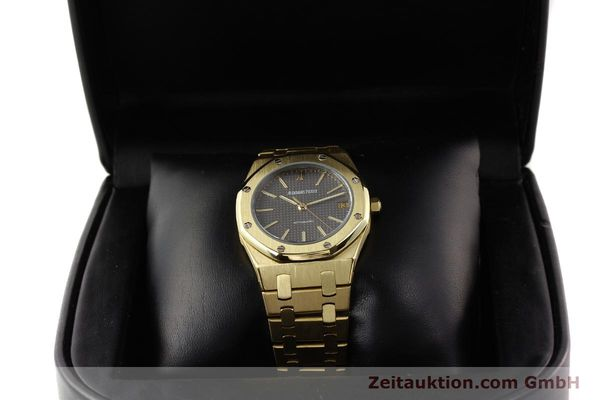 montre de luxe d occasion Audemars Piguet Royal Oak or 18 ct automatique Kal. 2123 Ref. B27623  | 141551 07