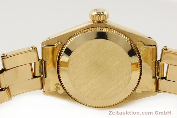 Used luxury watch Rolex Oyster Perpetual 18 ct gold automatic Kal. 2030  | 141552 08