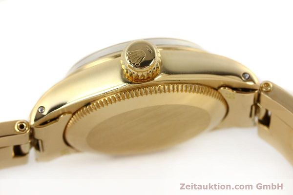 Used luxury watch Rolex Oyster Perpetual 18 ct gold automatic Kal. 2030  | 141552 11
