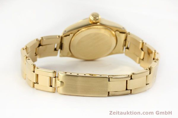Used luxury watch Rolex Oyster Perpetual 18 ct gold automatic Kal. 2030  | 141552 12