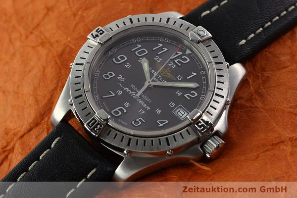 Used luxury watch Breitling Colt Oceane steel quartz Kal. B64  Ref. A64350  | 141554 01