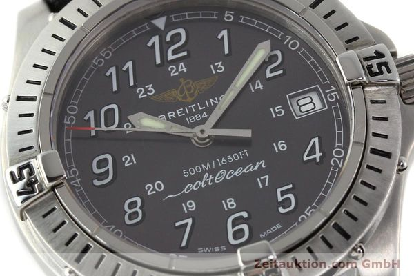 Used luxury watch Breitling Colt Oceane steel quartz Kal. B64  Ref. A64350  | 141554 02