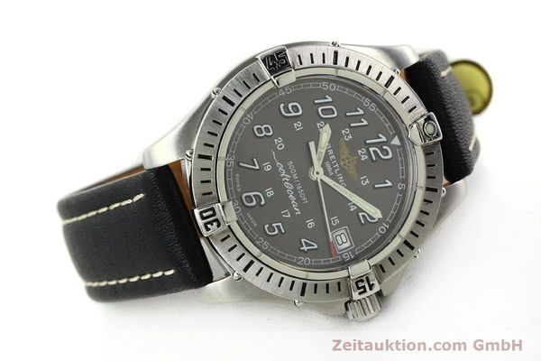 Used luxury watch Breitling Colt Oceane steel quartz Kal. B64  Ref. A64350  | 141554 03