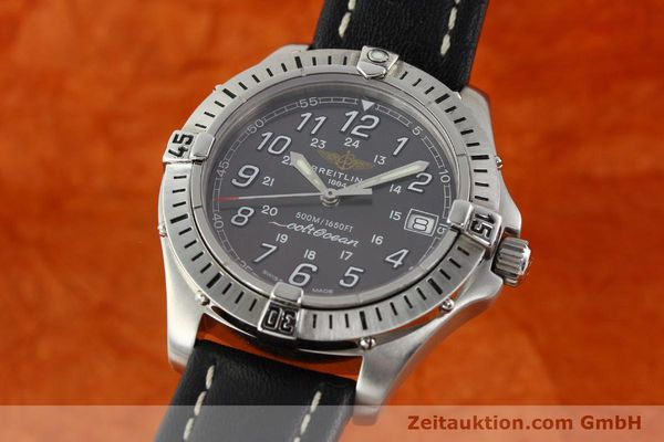 Used luxury watch Breitling Colt Oceane steel quartz Kal. B64  Ref. A64350  | 141554 04