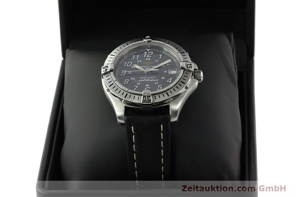Used luxury watch Breitling Colt Oceane steel quartz Kal. B64  Ref. A64350  | 141554 07