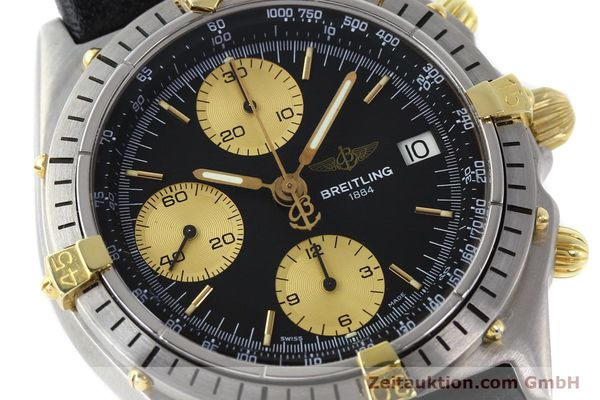Used luxury watch Breitling Chronomat chronograph gilt steel automatic Kal. ETA 7750 Ref. 81950A  | 141559 02